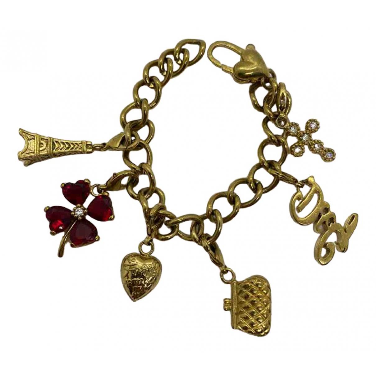 Dolce & Gabbana - Bracelet   pour femme en metal - dore