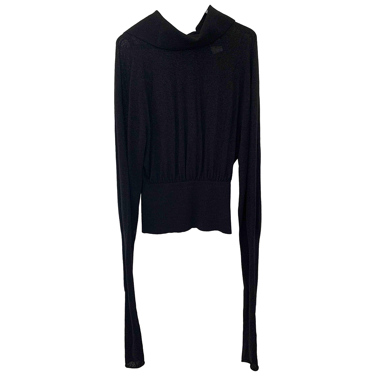 Lemaire \N Black Cotton  top for Women S International