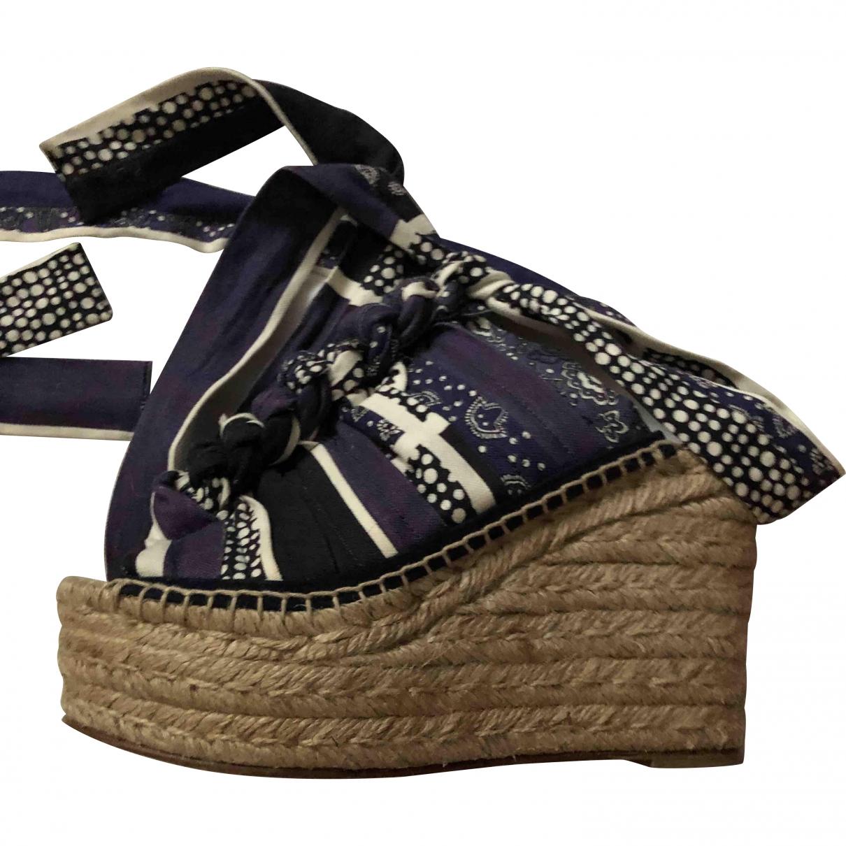 Chloé \N Multicolour Cloth Sandals for Women 37 EU