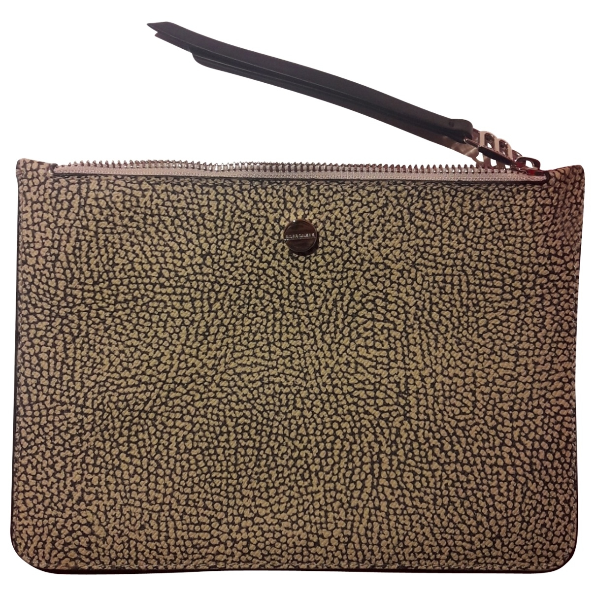 Non Signe / Unsigned \N Clutch in  Beige Synthetik