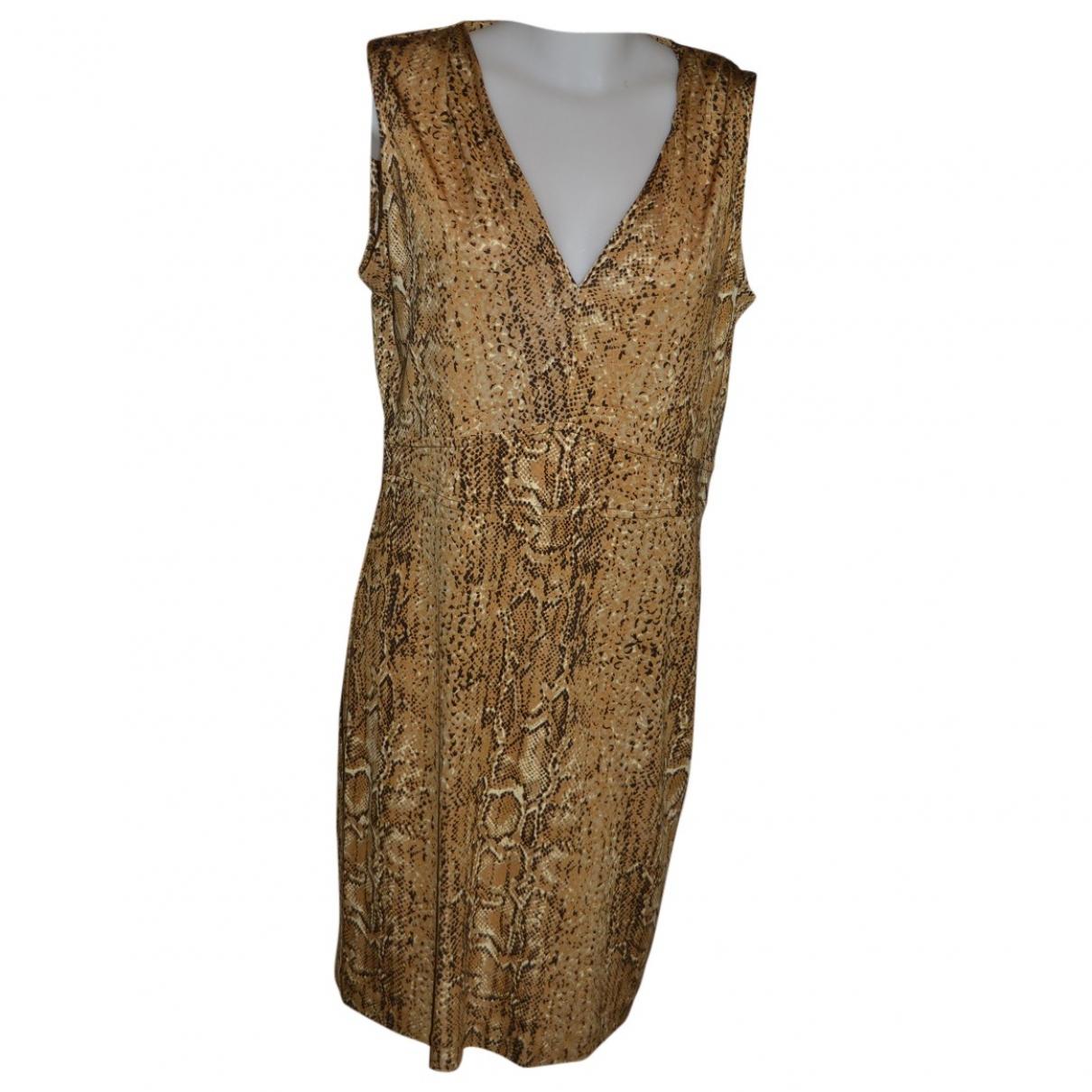 Tory Burch \N Beige Silk dress for Women L International
