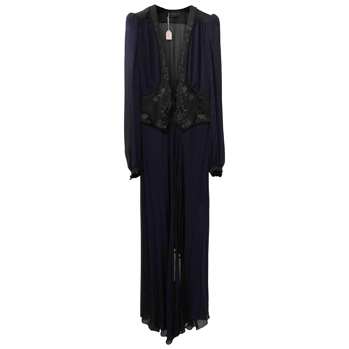 Maxi vestido de Seda Dundas