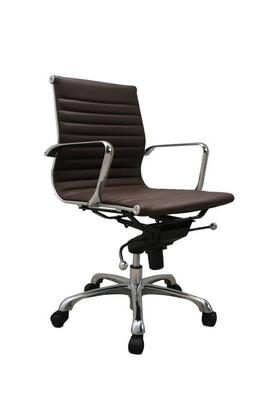 17652 Comfy Low Back Brown Office