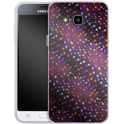Samsung Galaxy J3 (2016) Silikon Handyhuelle - Spike Pattern von Danny Ivan