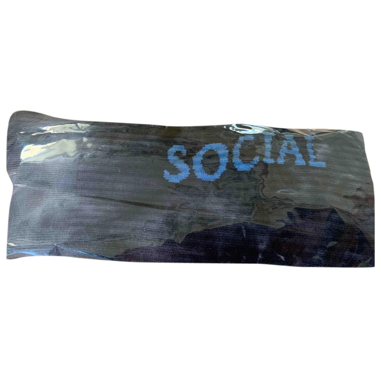 Anti Social Social Club \N Badeanzug in  Grau Baumwolle - Elasthan