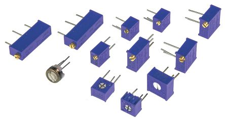 Bourns , H-870, Through Hole 12 Resistor Kit, with 60 pieces, 500 Ω → 100 kΩ