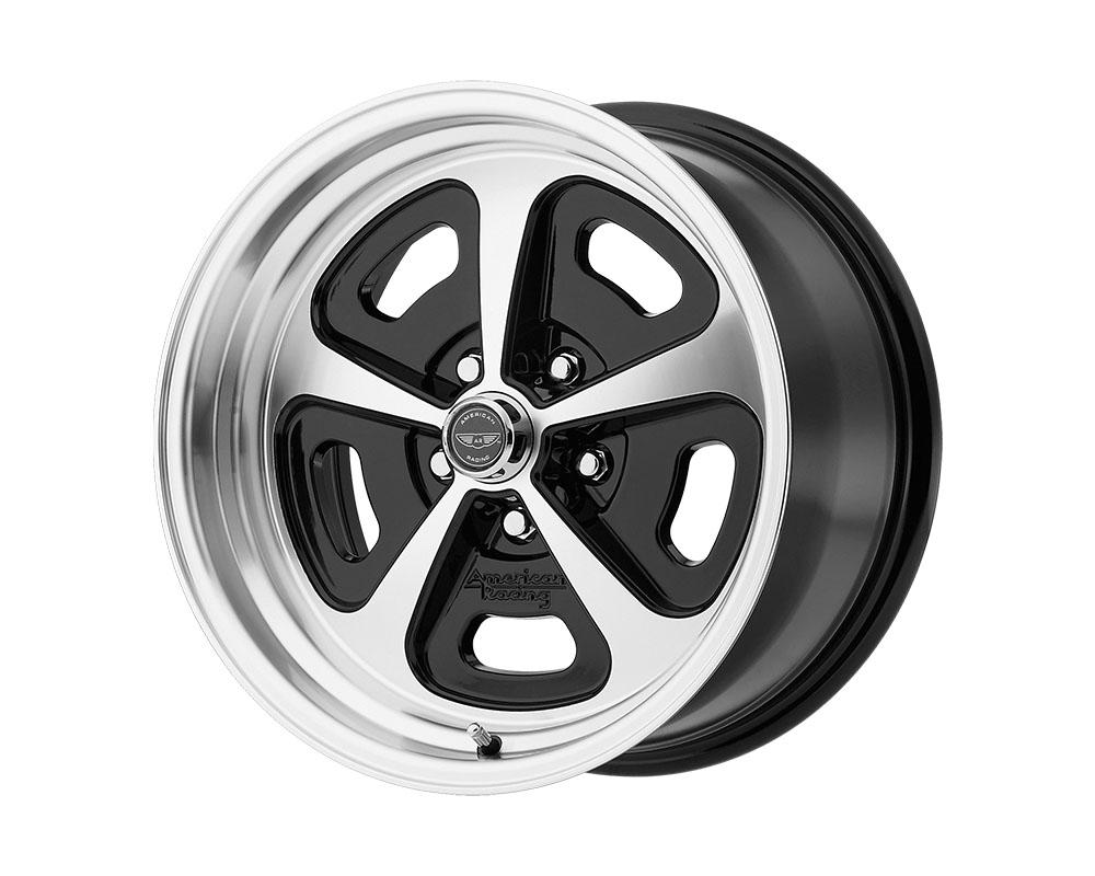 American Racing VN501 500 Mono Cast Wheel 15x8 5x5x114.3 +0mm Gloss Black Machined