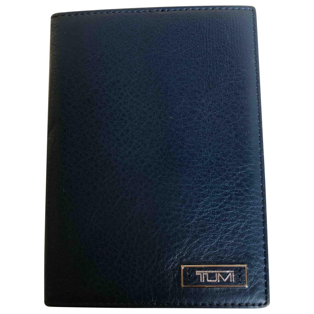 Tumi - Objets & Deco   pour lifestyle en cuir - bleu