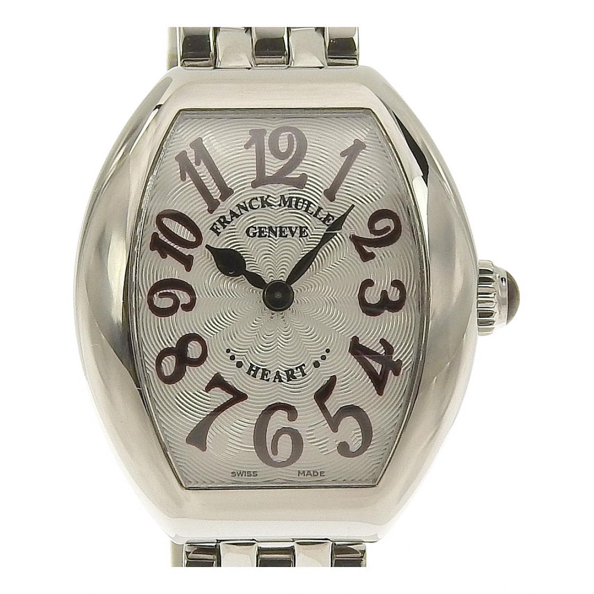 Franck Muller \N Silver Steel watch for Women \N
