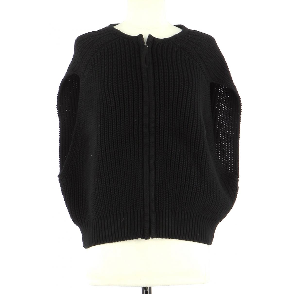 Comptoir Des Cotonniers - Pull   pour femme en coton - noir