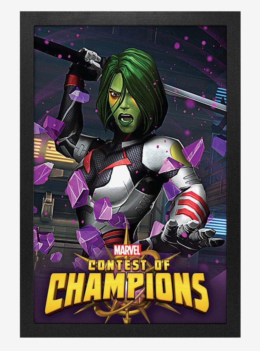 Marvel Contest Of Champions Gamora Poster