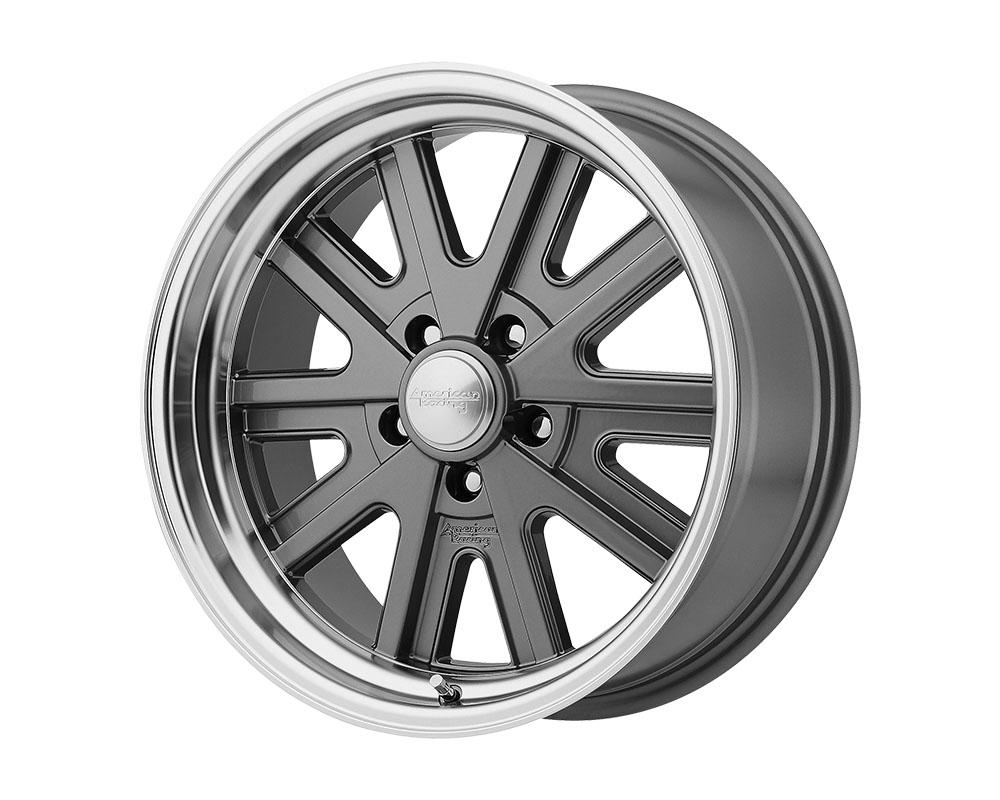 American Racing VN527 427 Mono Cast Wheel 17x7 5x5x120.65 +0mm Mag Gray Machined