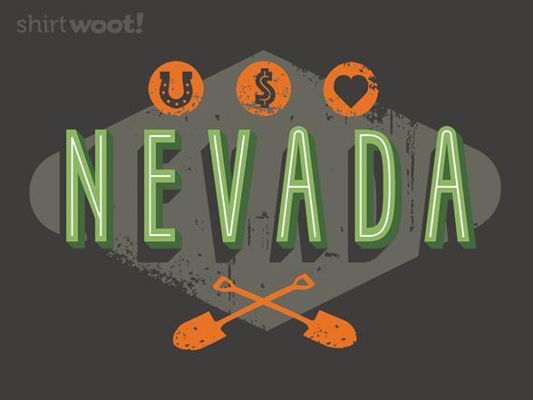 I Buried My Heart In Nevada T Shirt
