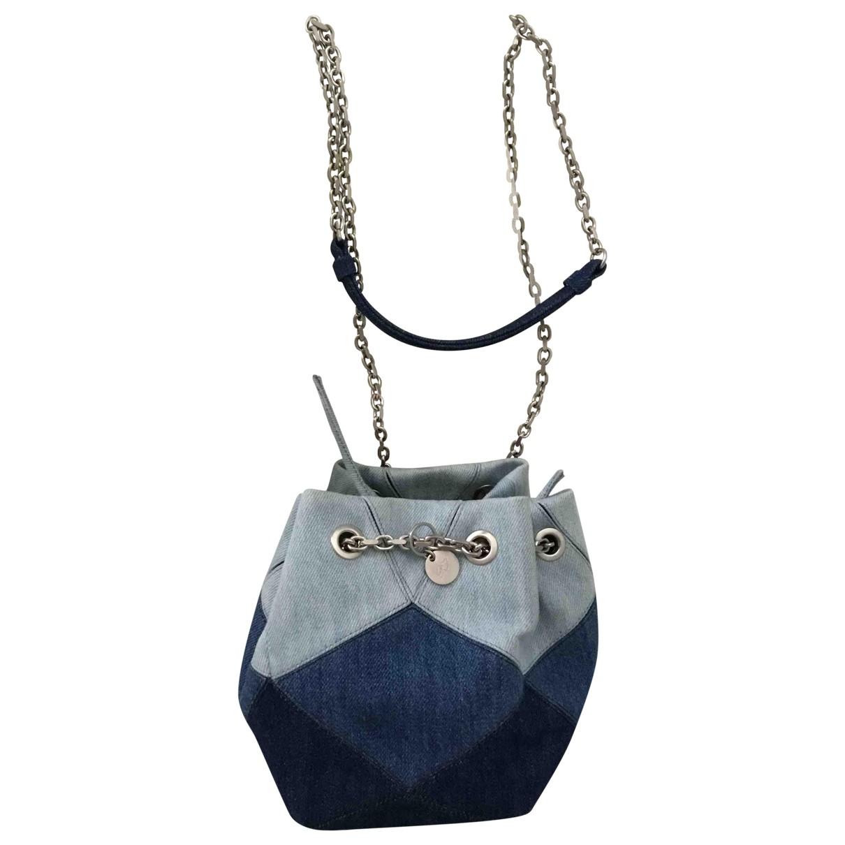 Roger Vivier \N Blue Denim - Jeans handbag for Women \N