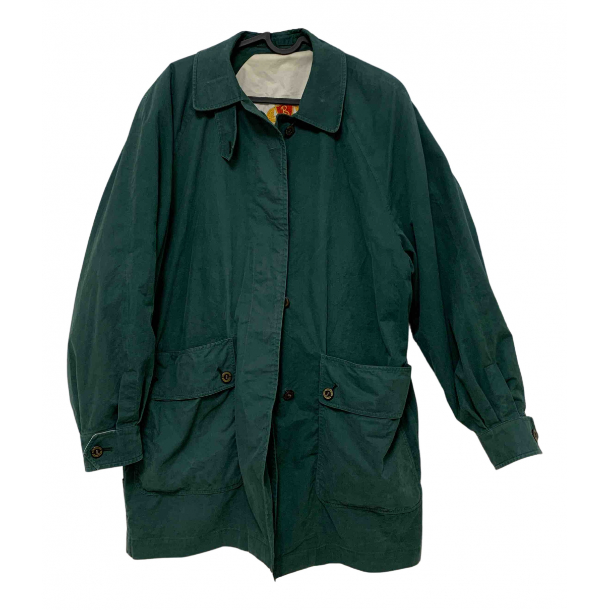 Burberry N Green Cotton jacket for Women M International