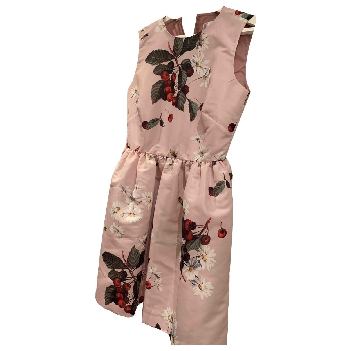 Red Valentino Garavani \N Pink dress for Women 40 IT