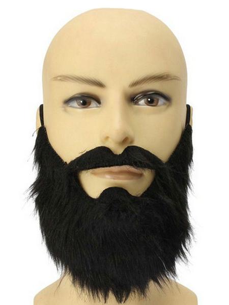 Milanoo Goatee Beard Kit Costume Accessory Facial Hair Beard For Party