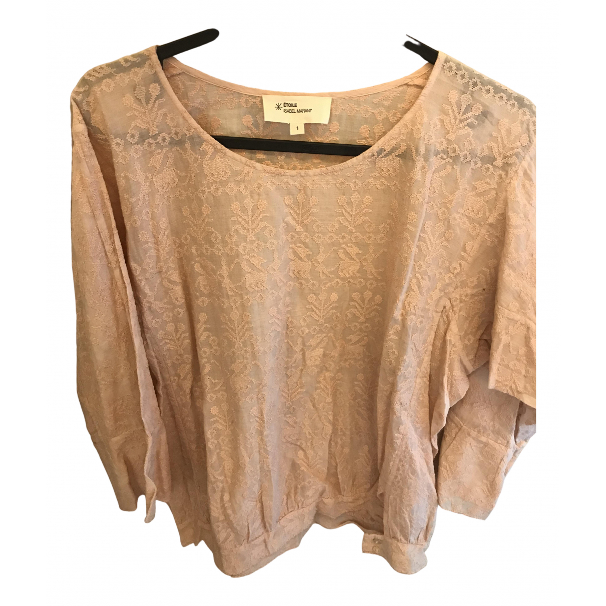 Isabel Marant Etoile N Pink Cotton  top for Women 42 IT