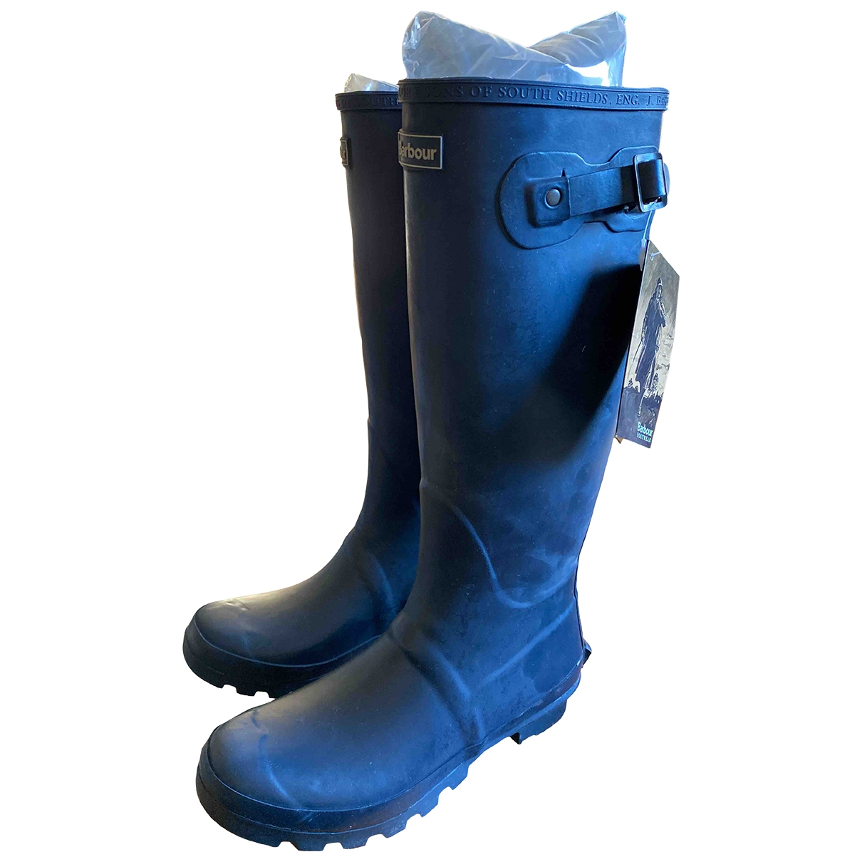 Barbour \N Stiefel in  Blau Kunststoff