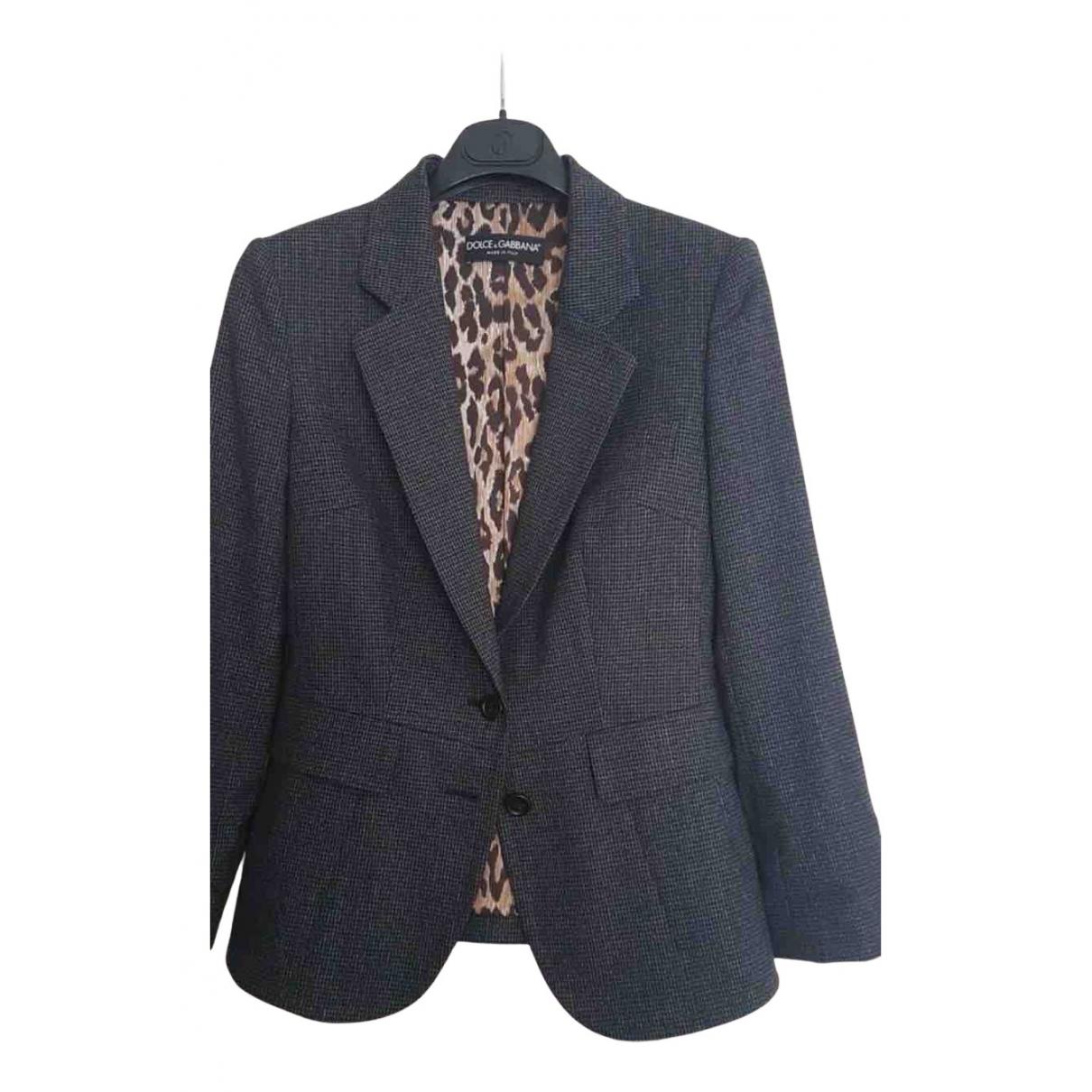 Dolce & Gabbana - Veste   pour femme en laine