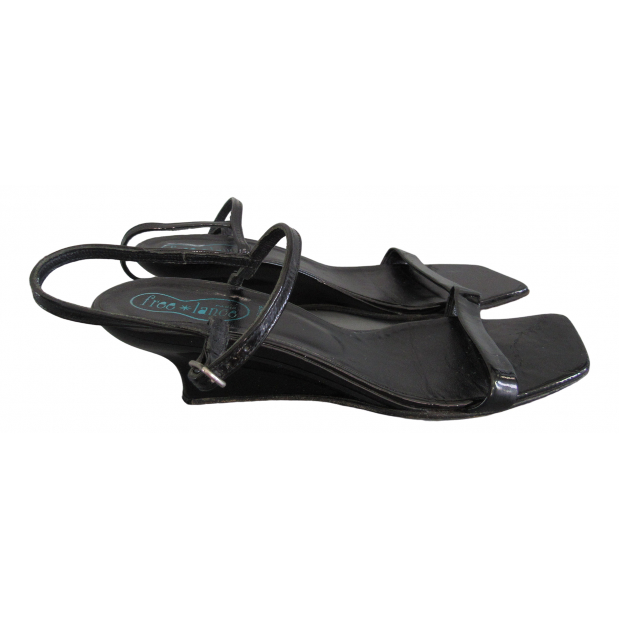 Free Lance \N Black Patent leather Sandals for Women 37.5 EU