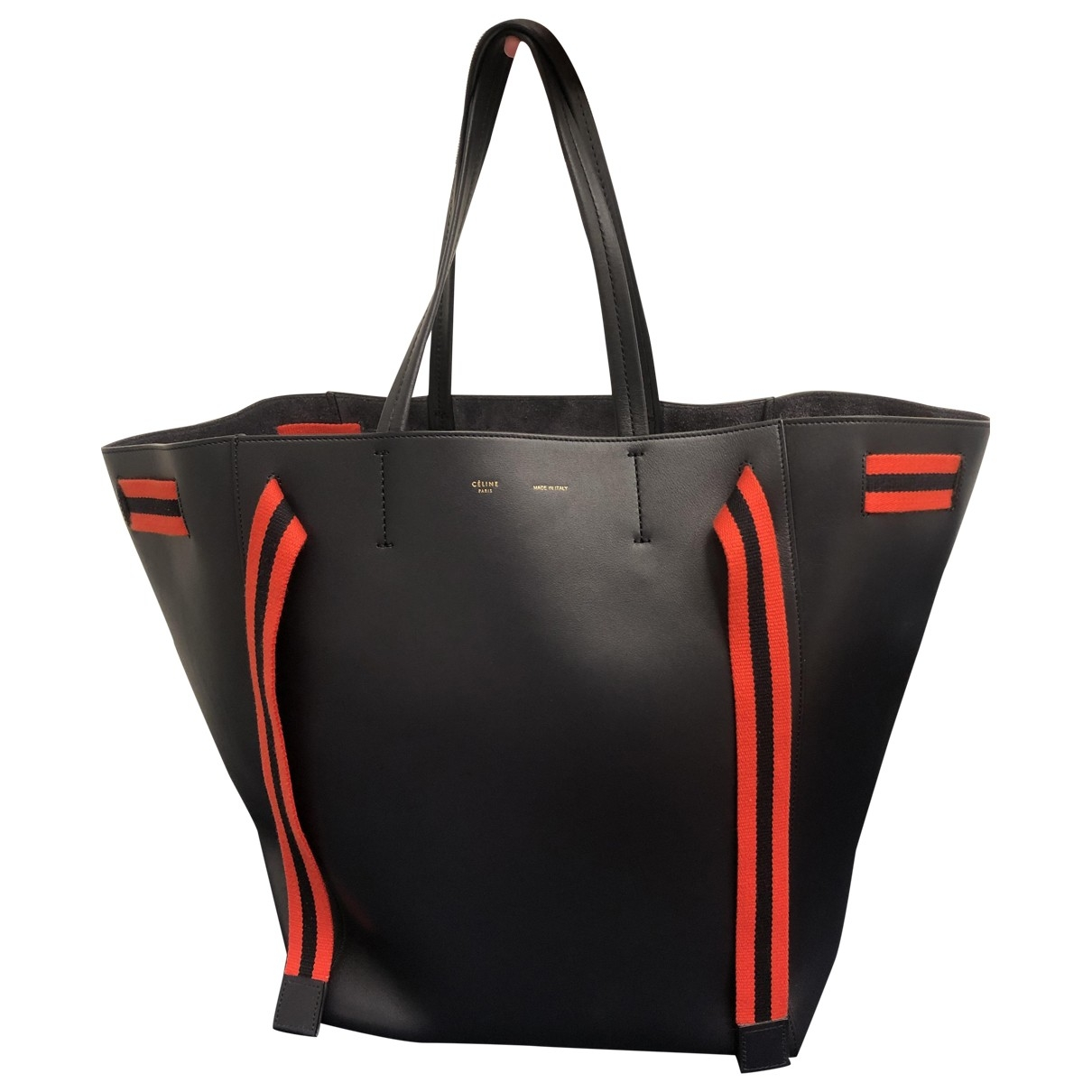 Celine Cabas Blue Leather handbag for Women \N