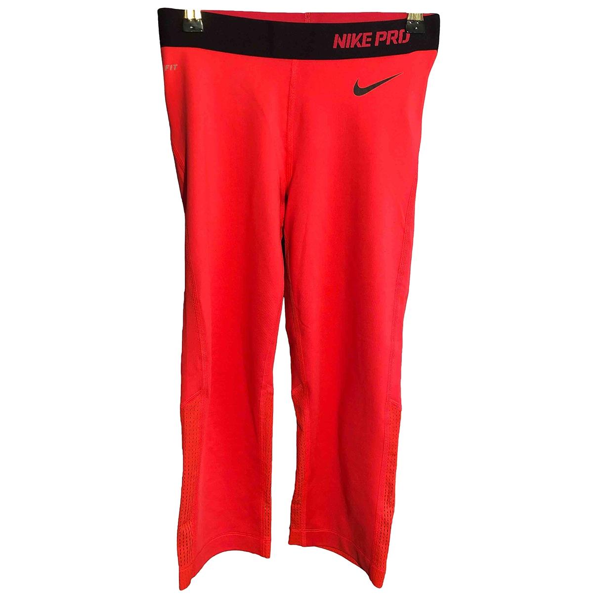 Nike \N Orange Spandex Trousers for Women S International