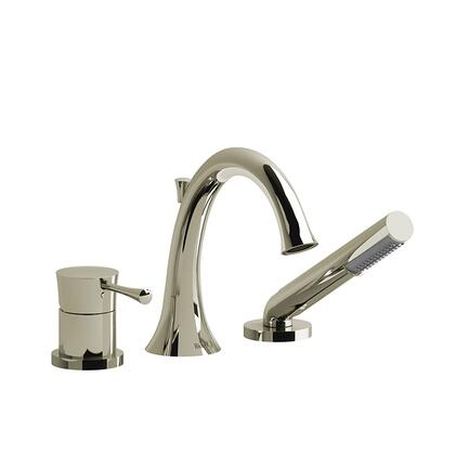 ED10PN-SPEX 3-Piece Deck Mount Tub Filler with Hand Shower Pex  in Polished