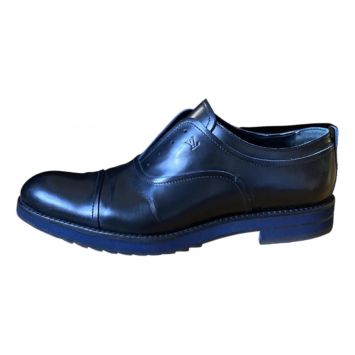 Louis Vuitton \N Black Leather Lace ups for Men 42.5 EU