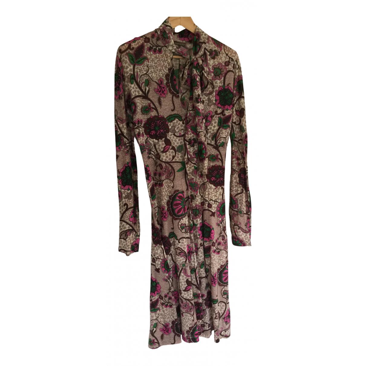 Maliparmi - Robe   pour femme en laine - multicolore