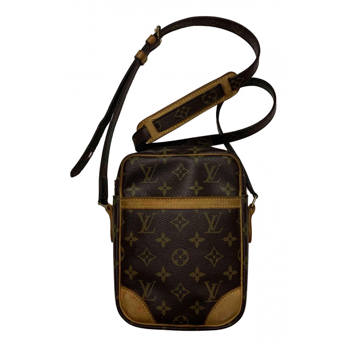 Louis Vuitton - Sac Danube pour homme en toile - marron
