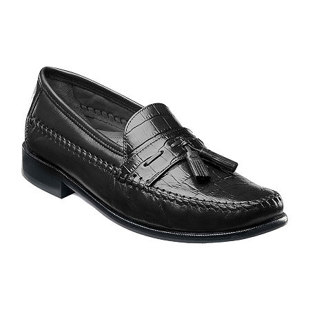 Florsheim Pisa Mens Slip-On Dress Shoes, 10 Medium, Black