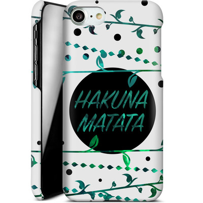 Apple iPhone 8 Smartphone Huelle - Hakuna Matata von Statements