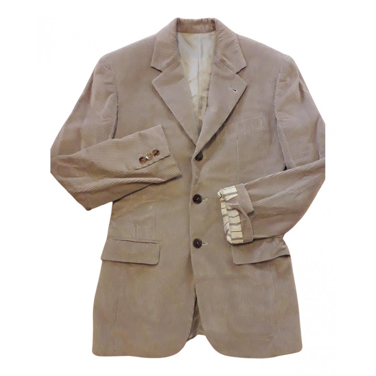 Jean Paul Gaultier N Beige Cotton jacket for Women 38 FR