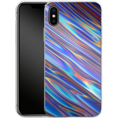 Apple iPhone X Silikon Handyhuelle - Iris von Danny Ivan