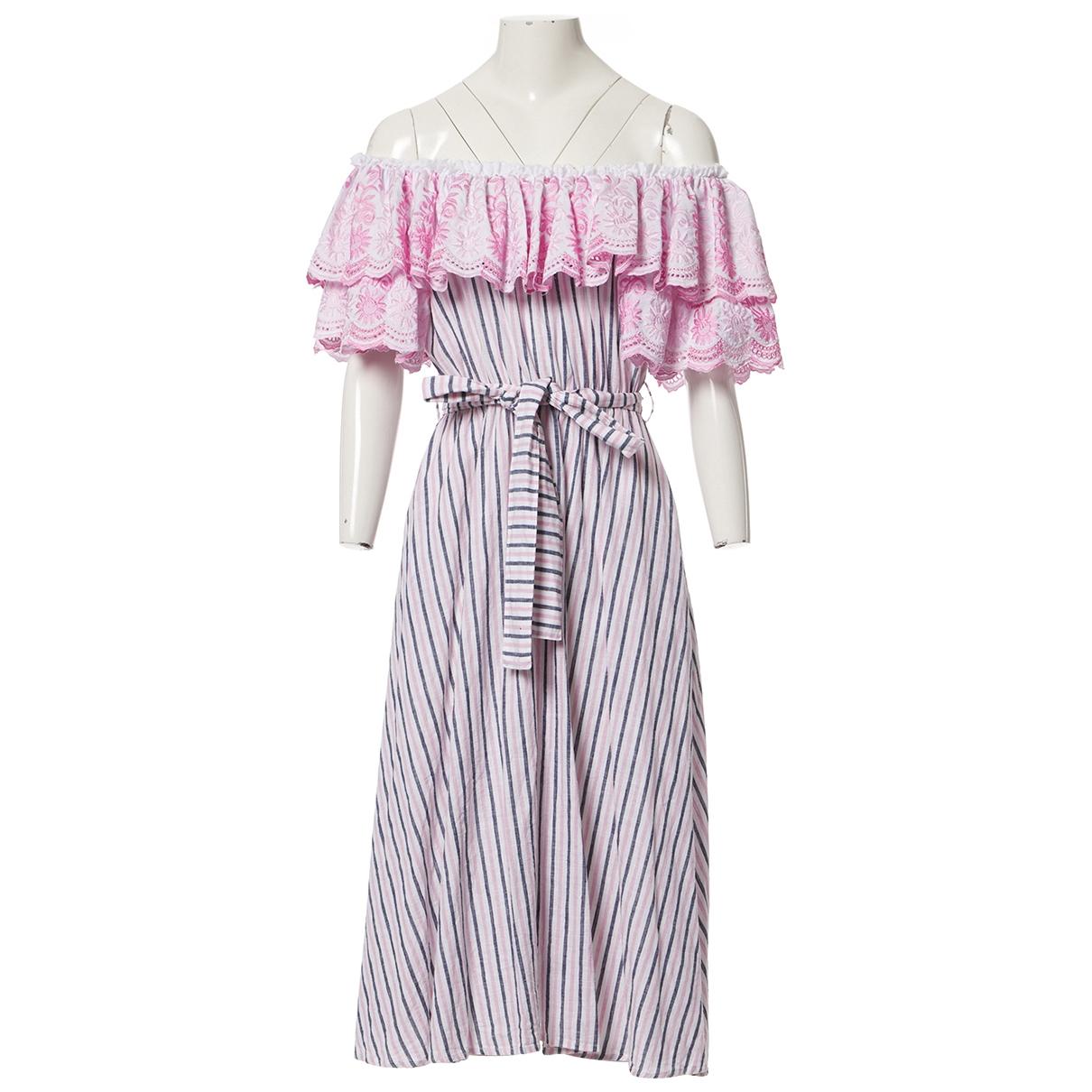 Gul Hurgel \N Kleid in  Bunt Baumwolle