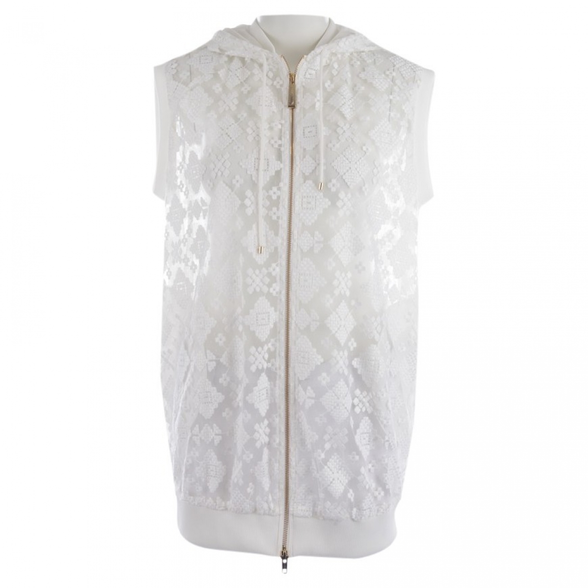 Just Cavalli \N Top in  Weiss Wolle