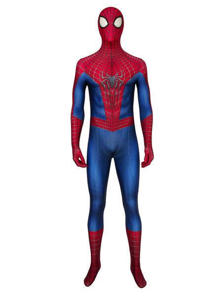 Milanoo Marvel Comics The Amazing Spider Man Cosplay Suit Cosplay Costume