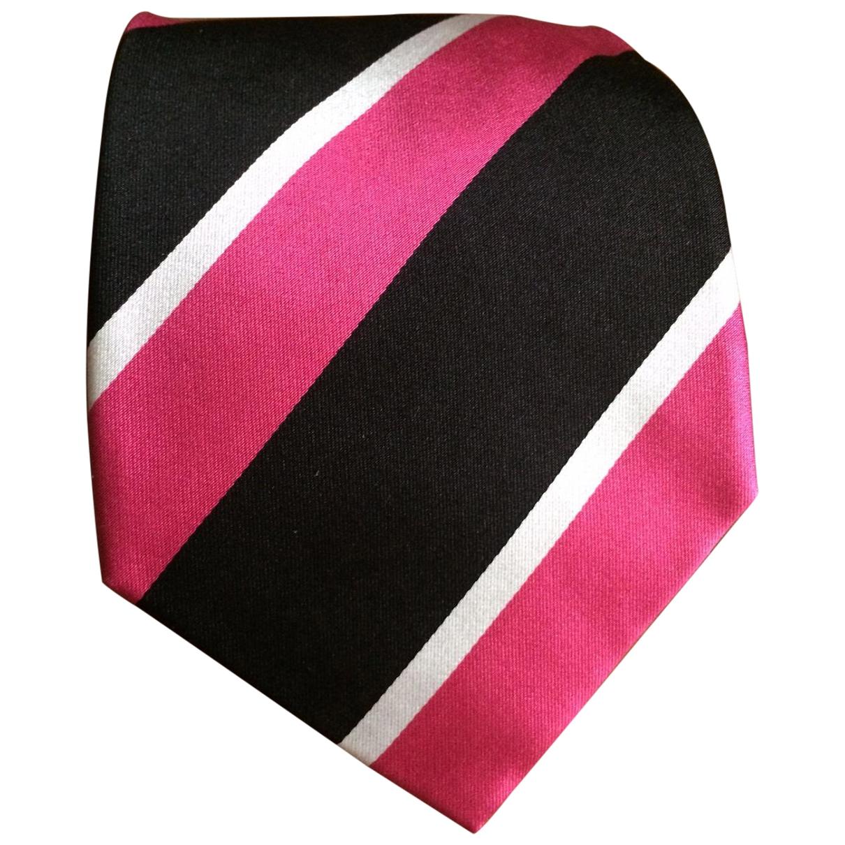 Ralph Lauren \N Krawatten in  Rosa Seide