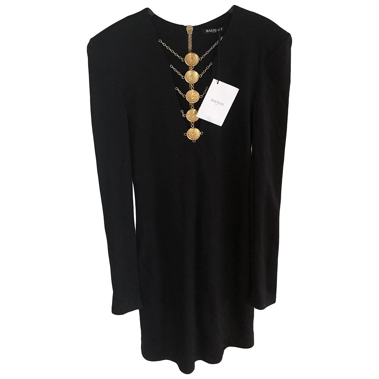 Balmain - Robe   pour femme - noir