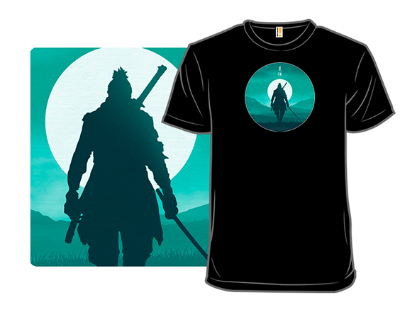 Warrior Silhouette T Shirt