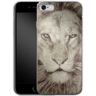 Apple iPhone 6 Silikon Handyhuelle - Leo Lion von Eric Fan