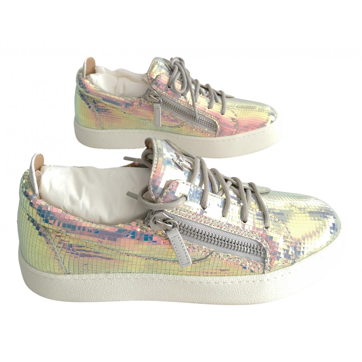Giuseppe Zanotti Nicki Sneakers in  Bunt Leder
