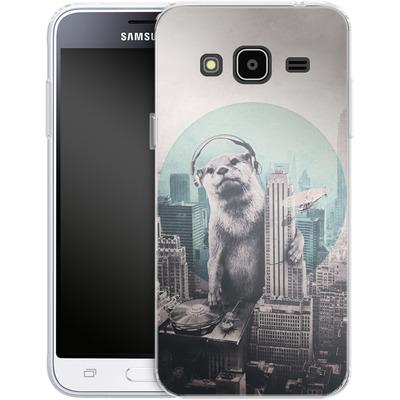 Samsung Galaxy J3 (2016) Silikon Handyhuelle - DJ von Ali Gulec