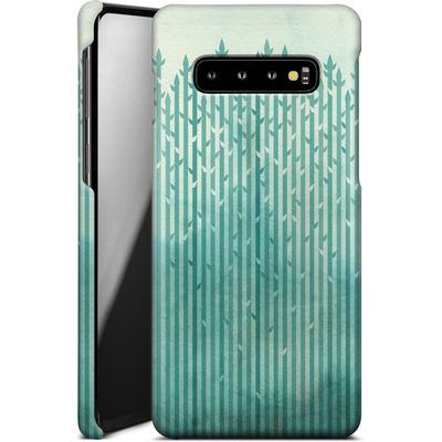 Samsung Galaxy S10 Plus Smartphone Huelle - Misty Morning von Little Clyde