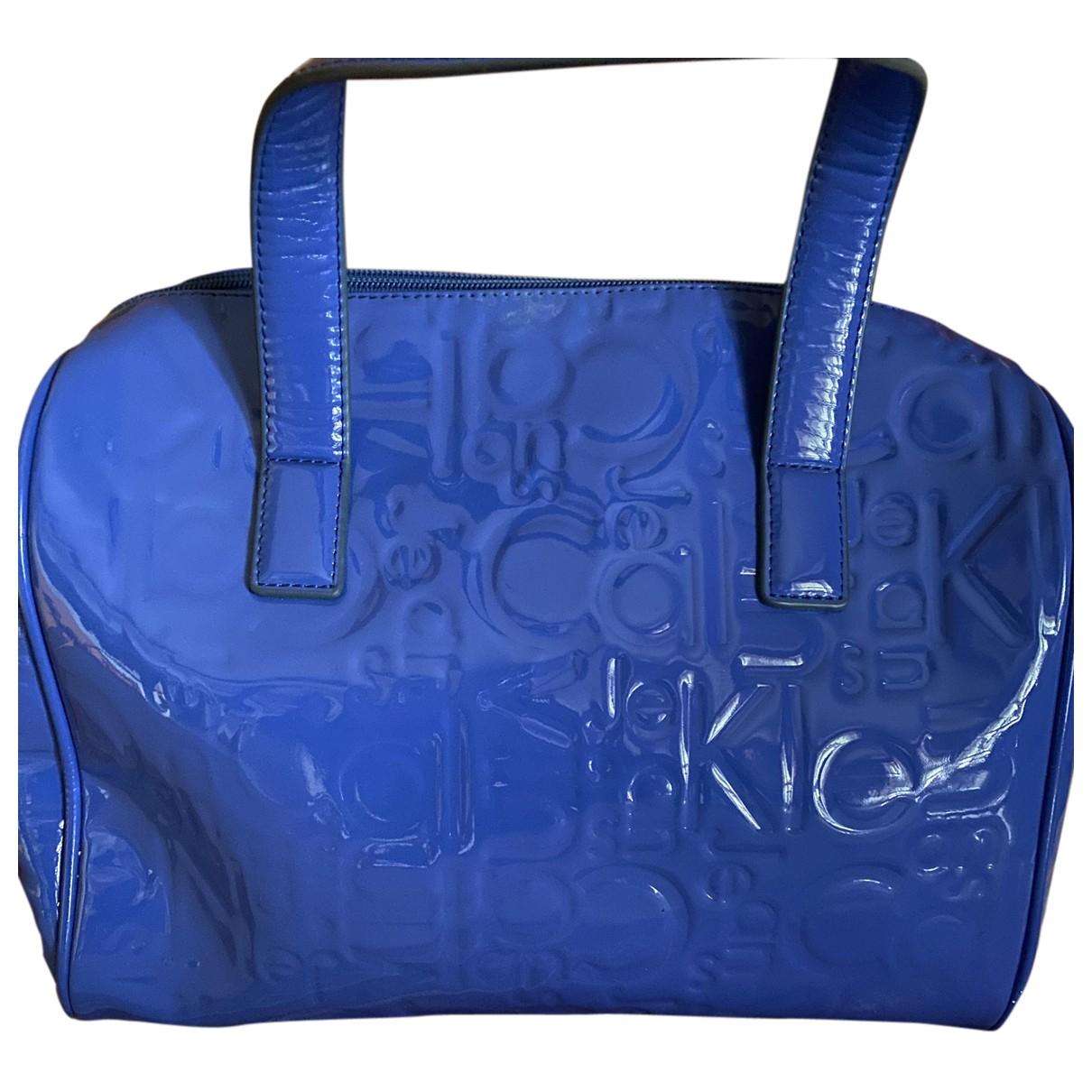Calvin Klein - Sac a main   pour femme - bleu