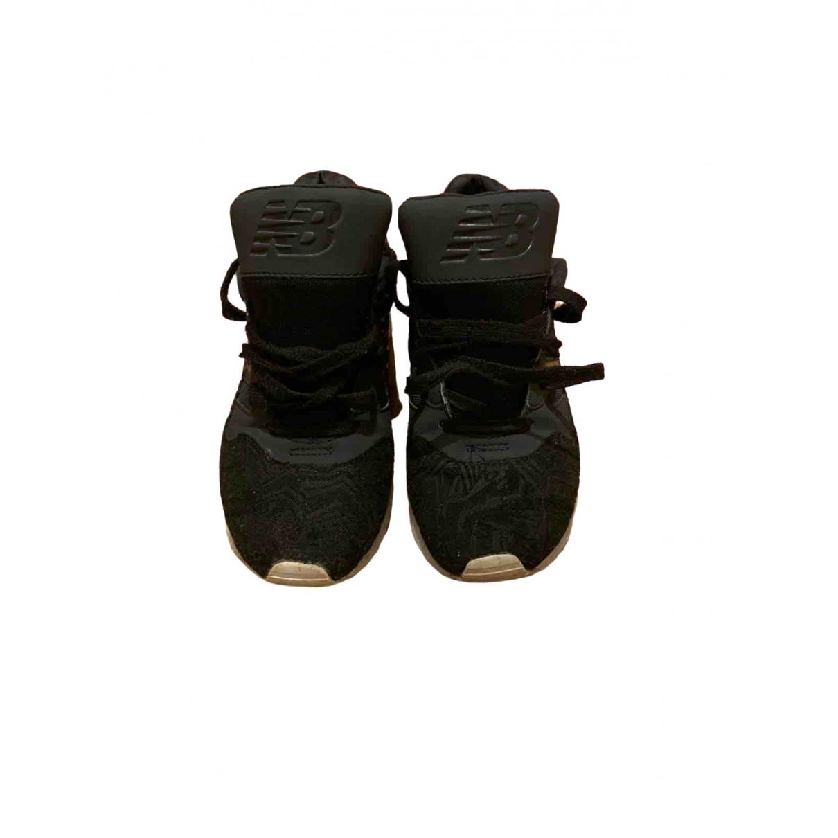New Balance - Baskets   pour femme en toile - noir