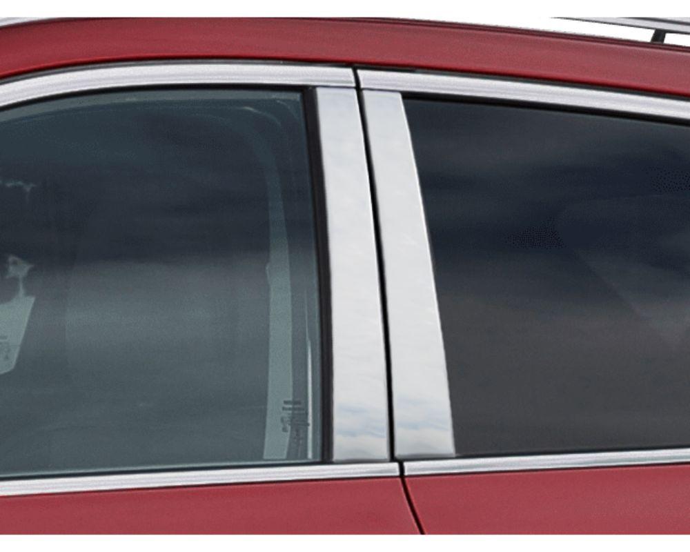 Quality Automotive Accessories Stainless Steel Pillar Post Trim Nissan Rogue Sport  17-20