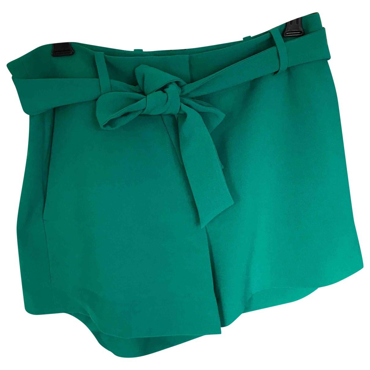 Ann Taylor \N Shorts in  Gruen Polyester