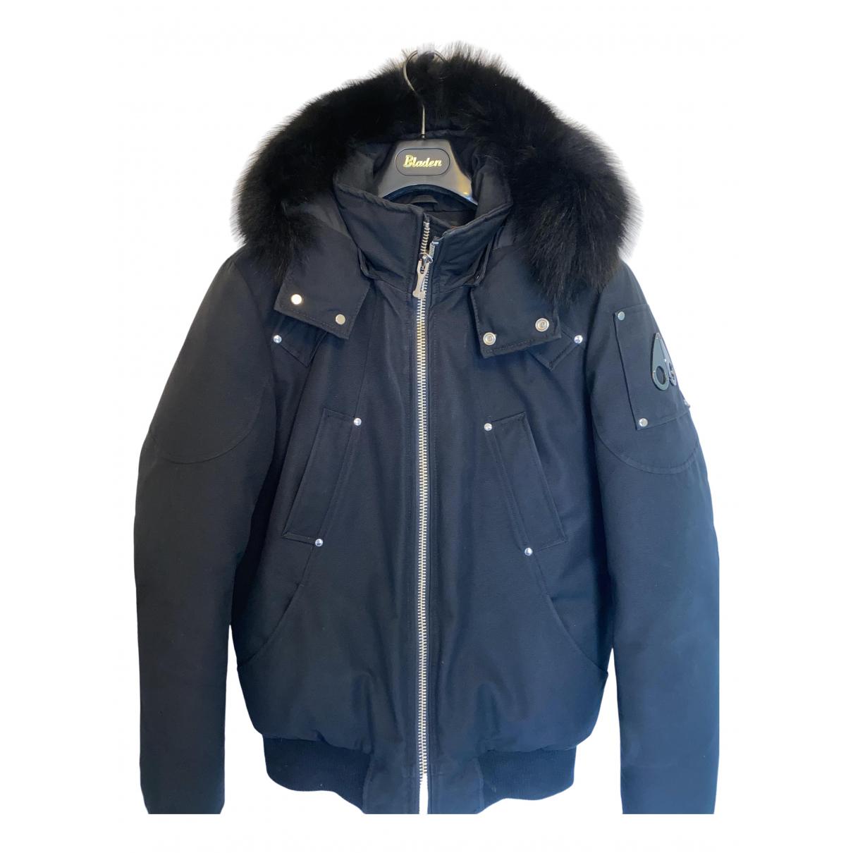 Moose Knuckles \N Black coat  for Men M International